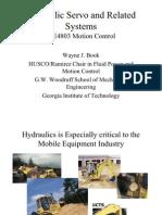 Basic Operation of Servo Valve Hydraulics for Mechatronics