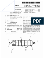 Interference fit knotless suture anchor fixation (US patent 6641597)