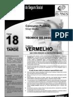 INSS_Prova_Cespe_2008_Cargo_NM_18_Caderno_Vermelho1