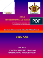 CINOLOGIA