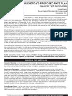 Rate Plan Analysis 12-11