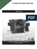 AquaPro Single Speed Manual
