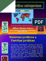 FAMILIAS JURÍDICAS CONTEMPORÁNEAS