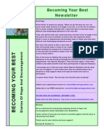 Becoming Your Best Newsletter -  December 2011