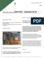 Guida al Computer - Lezione 39