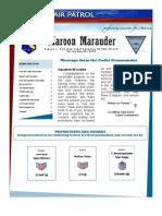Maroon Marauder - Spring 2009