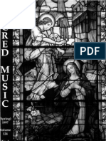 Sacred Music, 124.1, Spring 1997; The Journal of the Church Music Association of America
