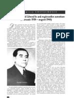 Partidul Naţional Liberal în anii regimurilor autoritare
