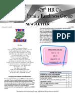 Newsletter June 2011