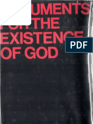 Arguments For The Existence Of God John Hick Existence Of