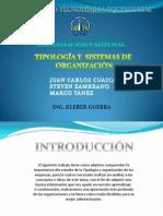 TIPOLOGÍA Y ORGANIZACION