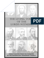 The Living Voice of the Lord's Witnesses