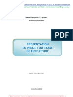 1 Description PFE 2010-2011
