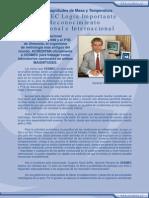 Informativo CESMEC N°9 (Acreditación INN y PTB Alemania)