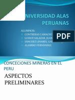 CONCESIONES MINERAS EN EL PERÚ