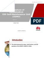 New Feature of M2000V2R10 - OSS Self-Maintenance Unit(OSMU)-20100722-C-1.0