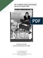 Historias Adoracion Infantil 2007