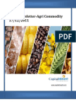 Daily AgriCommodity Newsletter By Money CapitalHeight