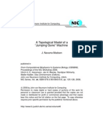 "Junalyn Navarra-Madsen- A Topological Model of a ""Jumping Gene"" Machine"