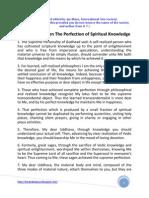 Chapter 19 the Perfection of Spiritual Knowledge (Udhav Gita)