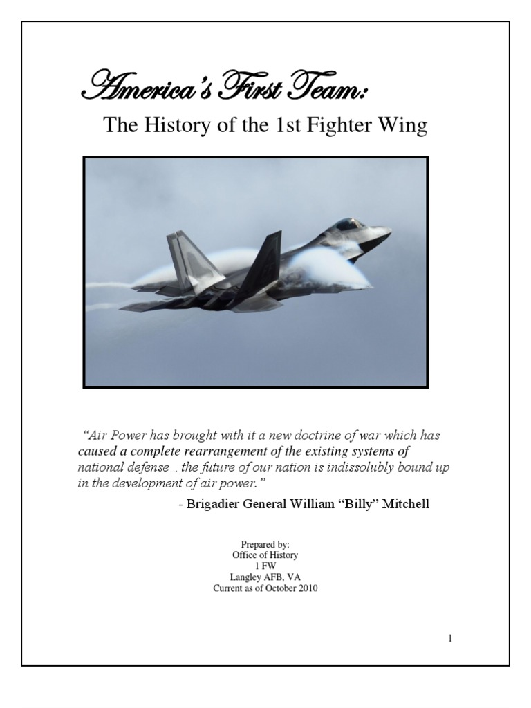 Wwi 1st fighter wing history gulf war aeronautics fandeluxe Gallery