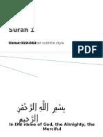 QR 003 Surah 002 019-043