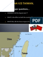 A Timeline of Relations Between Taiwan and China