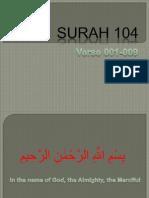 QR-250 Surah 104-001-009