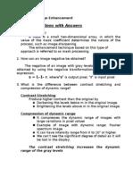 Digital Image Processing (Image Enhancement)