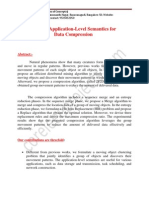 Exploring Application-Level Semantics for Data Compression Abstract by Coreieeeprojects