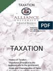 Taxation - Economics