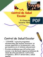 12 Clase Control de Salud Escolar2.0