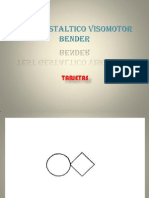 Test Gestaltico Visomotor Bender