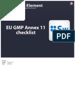 GMPAnnex11checklist