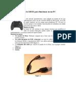 Adaptar El Pad de La XBOX Para Funcionar en Un PC