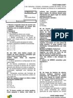 AP Quimica Modulo-01 Exercicios