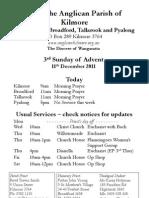 Pew Sheet 11 Dec 2011