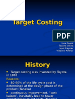 Target Costing Presentation Final