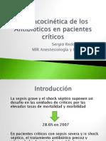 Farmacocinética de los antibioticos en pacientes críticos