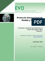 Protocolo Internacional de Medida y Verificacion-VOLUMEN I