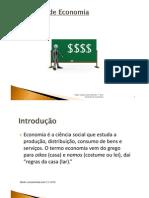 Conceito de Economia (Paulo Lopes) Curso Direito 1º Ano ISMAT