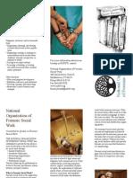 National Organization of Forensic Social Work Membership Brochure