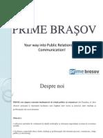 a Proiectelor PRIME Brasov