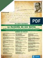 VIII Curso Filosófico del distrito de Barajas