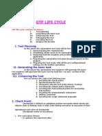 Qtp Life Cycle 5