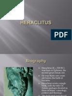 Heraclitus Ppt.