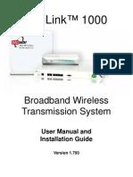 User Manual(5.8) Radio Modem