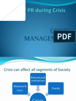Role of PR During Crisis