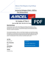 75927294 RKGEC Aircel Invitation