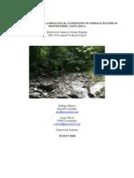 Technical Report 2009-2010 Monteverde Adopt-A-Stream